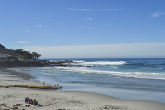 Carmel Beach (ka191091) Tags: california trip travel blue sky beach beautiful roadtrip carmel traveler carmelbeach