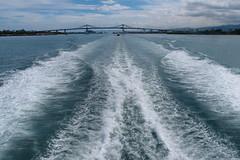 Wake (Carrascal Girl) Tags: boat boattravelinthephilippines catamaran fastcraft ormoc cebucity cebu port pier