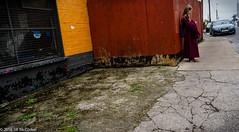 Limerick-01825 (Jilly in Philly) Tags: ireland girl uniform catholic phone limerick