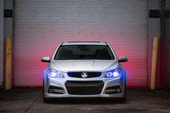 Holden (rsutton198 | oneninety8.com) Tags: chevrolet ss v8 holden ls3 lsx sedan lights auto car silver