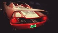 The Dominus (polyneutron) Tags: car photography ferrari f50 red classic supercar racer needforspeed nfs rivals pc videogame photomode closeup depthoffield