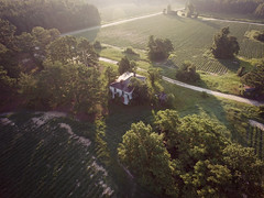 morning light (History Rambler) Tags: old abandoned antebellum house home rural south plantation decay dji phantom 3a