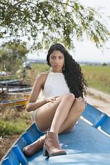 Aitana  Jara (Ximo Torres) Tags: model barca albufera