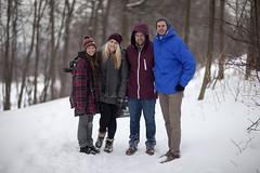 Students Photoshoot (Raf Ferreira) Tags: winter snow ontario canada canon bokeh hamilton 85mm f l 12 rafael ferreira peixoto