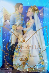Cinderella 2015 (possiblezen) Tags: set movie thailand store couple doll princess bangkok deluxe prince disney collection zen figure kit cinderella 12 charming limited edition accessory 2015