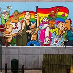 Bruxelles - fresque murale  LGBTQI _ © Ralf König - urbana-project.com - photo J.P.Remy thumbnail
