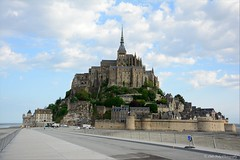 Mont Saint-Michel (Little Italy Photography) Tags: city travel paris france building art history tourism water gardens architecture night island photography nikon europe day artistic bell cloudy abby capital gothic towers citylife cities churches statues flags historical fountains peninsula normandy sculptures clocks europeanunion englishchannel montsaintmichel partlycloudy lampposts destinations capitalcities colorimage celticsea hccity nikon18105mmf3556afsdxvrednikkorlens nikond7100 nikonafzoomnikkor70300mmf456glens nikon35mmf18gafsdxnikkorlens