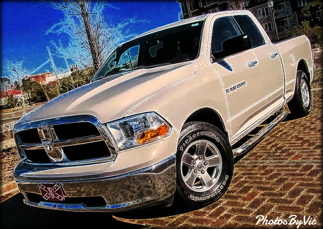 white truck pickup 11 dodge mopar ram 1500 2011