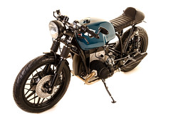 ALPHA By Kevils Speed Shop (kevils speed shop CAFE RACERS) Tags: bike cafe bmw r80 racer airhead bespoke scrambler bobber r100 kevils