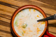 Broccoli, Potato and Cheddar Soup (MorboKat) Tags: food cooking kitchen soup cook