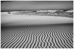 White Sands National Monument (Bryan the Roving Vagabond) Tags: new light bw white monument mexico blackwhite sand national sands bandw