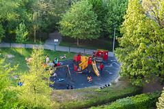 Belgique - Evere (V1) (saigneurdeguerre) Tags: park parque brussels 3 canon europa europe belgium belgique mark iii belgi bruxelles ponte 5d brssel brussel belgica parc bruxelas belgien aponte evere plainedejeux antonioponte ponteantonio saigneurdeguerre