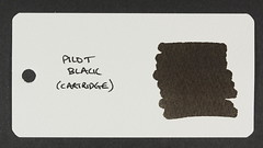 Pilot Black - Word Card