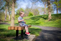 Stick (telks) Tags: park boy green happy child smith kansascity stick chill antiochpark