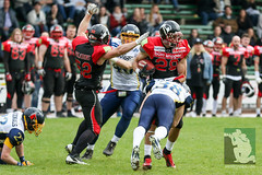 "RFL15 Solingen Paladins vs. Assindia Cardinals 02.05.2015 105.jpg • <a style=""font-size:0.8em;"" href=""http://www.flickr.com/photos/64442770@N03/17320720656/"" target=""_blank"">View on Flickr</a>"