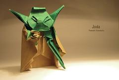 Joda (Laangen) Tags: berg paper star origami wars rainer papier joda kawahata fumiaki