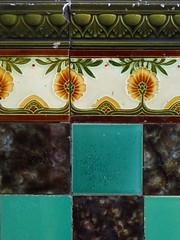 amsterdam tiles (textual refuse) Tags: street city travel amsterdam walking tiles walls ornamentation builtenvironment