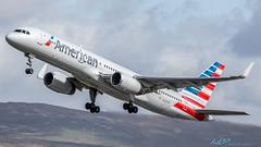 N204UW B757-23N American Airlines (US Airways) (kw2p) Tags: canon airport aircraft aviation airline boeing glasgowairport n204uw egpf b75723n egpfgla canoneos7dmarkii kennywilliamson kw2p americanairlinesusairways cn30886945