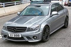 Mercedes C-63 AMG (XX998) (wilco737) Tags: auto cars car hongkong mercedes benz hong kong mb amg carspotting c63 wilco737 xx998