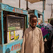 At the petrol station, Hargeisa