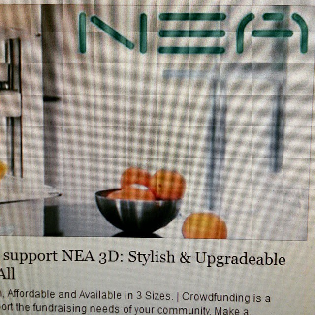 I ordered my NEA 3D printer! http://igg.me/at/nea3d/x/10735404 #strider  #nea3d #3dprinting #3d #maker #makers #makerspace