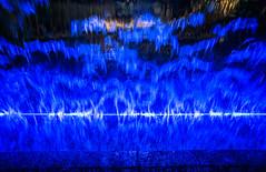 Man Inside The Sound Machine.jpg (Darren Berg) Tags: blue ireland dublin abstract water waterfall sound guiness