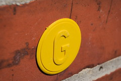 gas sign (me_hw) Tags: macro sign wall gas canoneos350d canonefs1855mmf3556