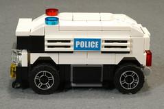 WK110-LS01 (Lancaster_Vanderbilt) Tags: lego legoracers racers 4wide moc policecar original tinyturbo car 8211