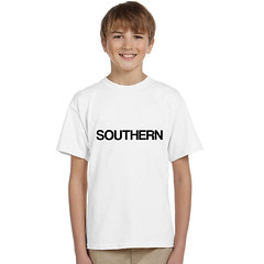 southern t-shirt (rethinkthingsltd) Tags: baby white smart children design kid diverse adult unique free tshirt parry pride southern lgbt statement strong local northern fit typographic able ilsa rethinkthings