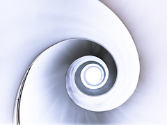 spiral view up (K.H.Reichert) Tags: architecture stairs spiral curves poland stairway staircase polen architektur spiralstaircase spirale szczecin stettin kurven wendeltreppe wojewdztwozachodniopomorskie