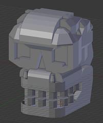 Azazel Low Poly Mesh (Sastrei87) Tags: lego homeworld 3vil brickspace