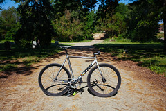 2012 Cinelli Mash Bolt (andyeclov) Tags: bike track gear bolt fixed fixie mash sram cinelli omnium