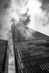 1 World trade centre (Georgio's Photography) Tags: street nyc newyorkcity blackandwhite bw newyork monochrome mono manhattan scenicsnotjustlandscapes