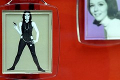 pistol girl (niki altmann) Tags: red girl fashion gun pistol sixties 60s