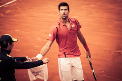 Nole is not happy at all (robertofaccenda.it) Tags: rome roma sport italia character atp tennis final finale lazio eventi nole foroitalico personaggi novakdjokovic internazionaliditalia internazionalibnlditalia lacitteterna altreparolechiave master1000 ibi16