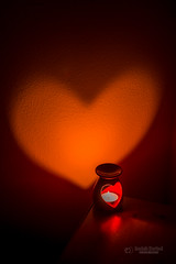 Love is in the air (tbnate) Tags: tbnate nikon nikond750 d750 dark love heart candles