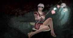 Maewah (roxi firanelli) Tags: fantasy belleza bauhausmovement axix argrace white~widow thegachagarden poliaksemporium