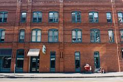 Cadillac Hotel. Seattle, WA. May 2016. (poopoorama) Tags: seattle building brick architecture washington unitedstates fujifilm pioneersquare xseries cadillachotel dannyngan x100t dannynganphotography