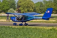 G-CEWR Aeroprakt A.22-L Foxbat C S Bourne & G P Wiley Sturgate Fly In 05-06-16 (PlanecrazyUK) Tags: sturgate egcs fly in 050616 gcewr aeroprakta22lfoxbat csbournegpwiley