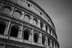 Colosseum03 (Nathan Wyatt) Tags: longexposure blackandwhite holiday rome roman 10 tripod landmark stop 18mm colossuem xpro1