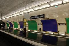 Paris - Station de mtro Porte d'Auteuil (corno.fulgur75) Tags: paris france station architecture subway design frankreich metro frana frankrijk francia iledefrance francie parijs frankrig pars parigi frankrike auteuil pary pa francja portedauteuil 16earrondissement november2015