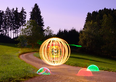 Lapp 1000 (andreasmertens) Tags: lightpainting art photography nacht performance lightart lapp lichtkunst