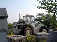Caterpillar 944 (Falippo) Tags: abandoned wheel cat caterpillar oldtimer loader 944 earthmover radlader ruspa macchinemovimentoterra palagommata