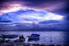 BLUE BOSTANLI (COSKUNTUNA ... 1.999.000 ... THANK YOU) Tags: travel blue black reflection bird beautiful beauty canon turkey eos boat bravo random trkiye bulut ege 2016 bak bostanl bostanli coskuntuna canon70d eos70d eralpege