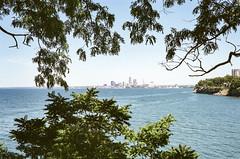 North Coast (Tony__K) Tags: cleveland ohio north coast lake erie water mytown ishootfilm fujifilm superia xtra 400 35mm 35cron summicron summicron35 leica mp summer