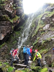 There must be an easier way. Anyone fancy a shower? - DSC06635 (JJC2008) Tags: eisc chuillinn reeks kerry bishopstown bhc gully