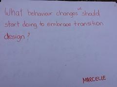Values and Behaviour Change question - Dilys (2) (lomoruth) Tags: change values behaviour openspacetech transitiondesign