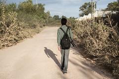 En el camino (martinnarrua) Tags: naturaleza man nature argentina way person persona photography countryside nikon photographer camino photos fotos campo monte amateur hombre nikond3100