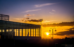 Lige airport (Philippe Demasy) Tags: sunset airport belgium lige lightroom 1870 bierset d7100 afsdx1870mmf3545gifed liegeairport nikond7100 philippedemasy