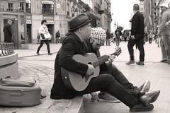 singing at puerta del Sol (*°ameLIE*°) Tags: madrid street city trip travel tourism canon amazing europa espana viaggi spagna